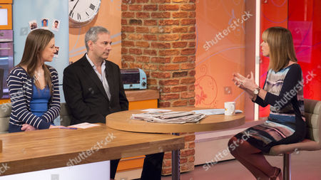 Stock Image of Isabel Hardman and Kevin Maguire with Kate Garraway