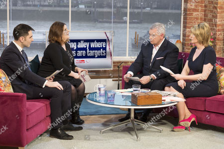 Michael Booker and Petrie Hosken with Eamonn Holmes and Ruth Langsford.