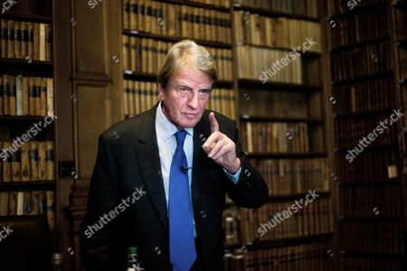 Bernard Kouchner, founder of Medicins Sans Frontiers and former French Foreign Minister