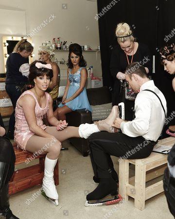 Behind the scenes - Alexandra Schauman, Frankie Poultney, Robin Johnstone