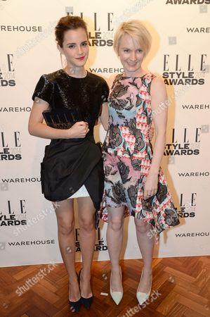 Emma Watson and Lorraine Candy