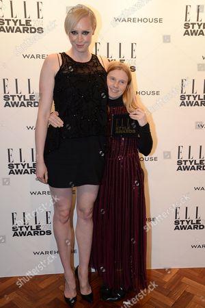 Gwendoline Christie and Katie Hillier