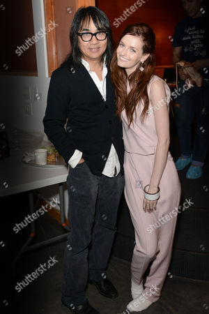 Stock Picture of Stephen Kamifuji, Lydia Hearst-Shaw
