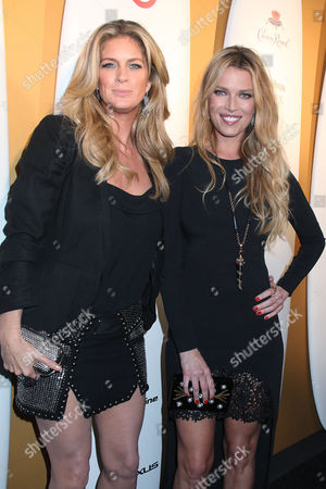 Rachel Hunter and Veronica Varekova