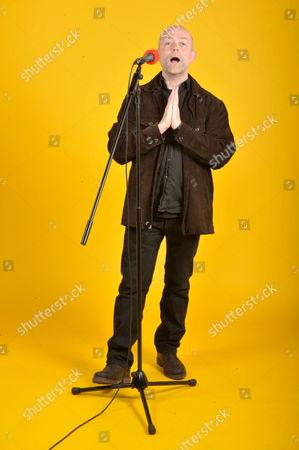 London, Britain. Michael Bearpark Guitarist Of British Progressive Rock Band Henry Fool