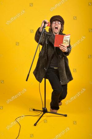 Stock Photo of London, Britain. Jarrod Gosling Mellotron And Glockenspiel Player Of British Progressive Rock Band Henry Fool