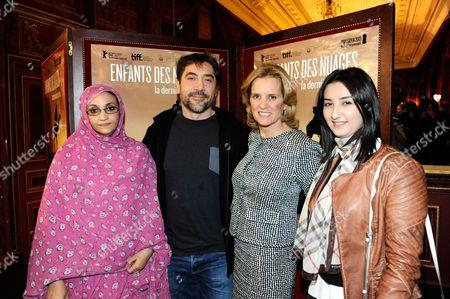 Aminatou Haidar, Javier Bardem, Kerry Kennedy