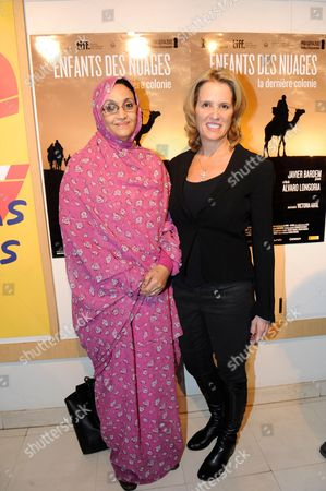Stock Picture of Aminatou Haidar and Kerry Kennedy