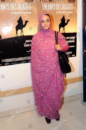 Stock Image of Aminatou Haidar