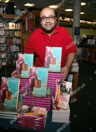 Editorial photo of Prawal Parajuly 'Land Where I Flee' book promotion at Blackwells Oxford, Britain - 18 Feb 2014