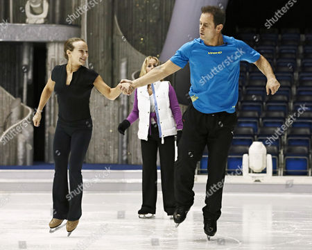 Kyran Bracken and Nina Ulanova with Karen Barber
