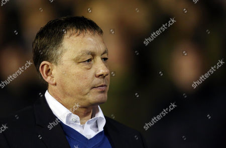 Stock Photo of Nottingham Forest manager Billy Davies