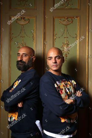 Stock Picture of Pierfrancesco Gigliotti and Maurizio Modica