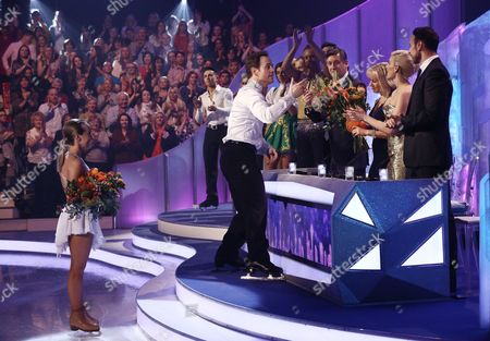 Kyran Bracken and Nina Ulanova are voted off and say their goodbyes to the judges