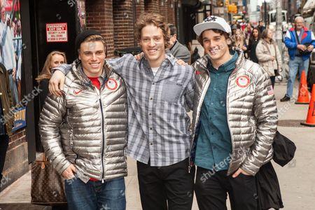 Gus Kenworthy, Joss Christensen and Nick Goepper