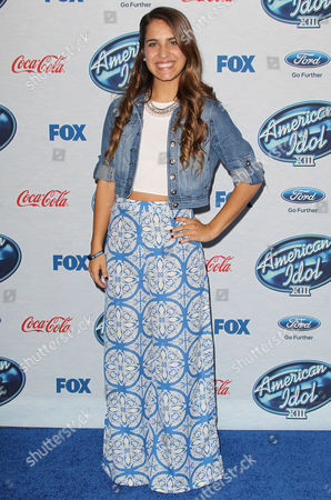 Editorial photo of Fox's American Idol XIII Finalists Party, Los Angeles, America - 20 Feb 2013