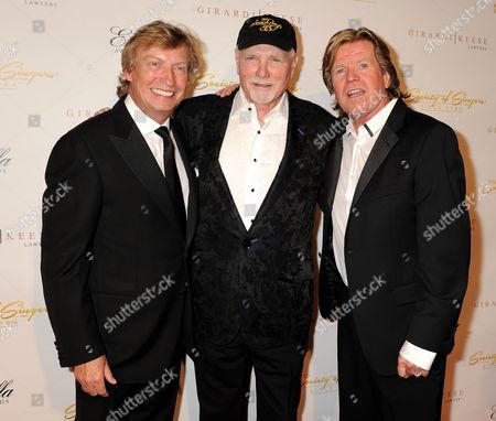 Nigel Lythgoe, Mike Love and Peter Noone