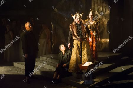 Editorial picture of 'King Priam' performed by English Touring Opera at the Linbury Studio, London, Britain - Feb 2014