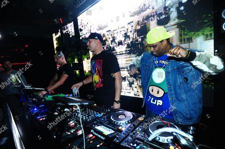 DJ Snake, Cut Killer and Big Ali