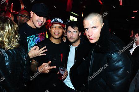 Stock Image of Cut Killer, DJ Snake, Sebastien Benett and Chuckie