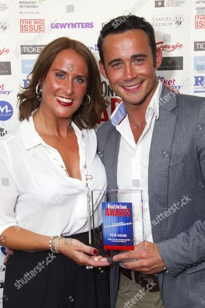 Editorial image of WhatsOnStage Awards, London, Britain - 23 Feb 2014