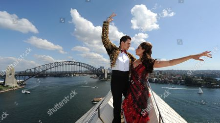 Editorial image of Baz Luhrmann's Strictly Ballroom the Musical photocall, Sydney, Australia - 23 Feb 2014