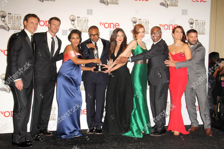 Kerry Washington, Columbus Short, Katie Lowes, Darby Stanchfield