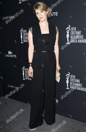 Editorial photo of 16th Annual Costume Designers Guild Awards, Los Angeles, America - 22 Feb 2014
