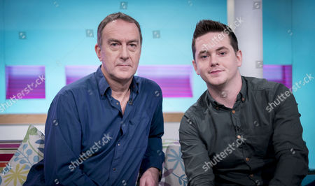 Stock Picture of Angus Deayton and Sean Michael Verey