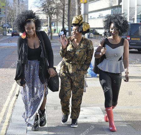 Editorial image of Celebrities outside ITV studios, London, Britain - 24 Feb 2014