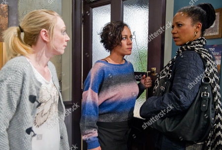 Ep 6683 - Friday 11 October 2013  Ali Spencer [KELLI HOLLIS] is put out as Ruby Haswell [ALICYA EYO] rushes off suspiciously with Lindy [NIMMY MARCH], Rubyís mysterious caller. It soon becomes clear Lindy is Rubyís mum and that their mother/daughter relationship isnít great. Ruby tries to deter her from sticking around as she dreads telling Ali that Lindy is her mum. Ali is stunned when the reason becomes clear why!