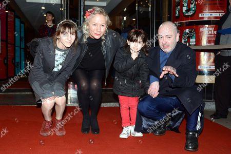 Agnes B, Lou-Lelia Demerliac, guest and Douglas Gordon
