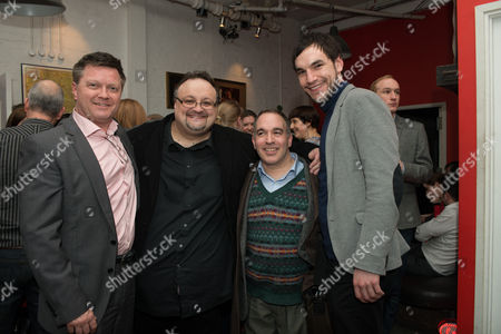 Stock Photo of Payl Tyrer (producer), Jamie Clark (producer), Neil Marcus (producer) and Michael Peavoy (producer)