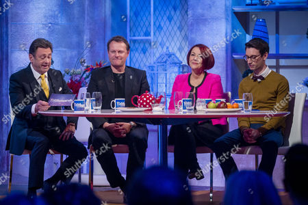 Alan Titchmarsh, Neil Stuke, Fiona Foster and Kevin Poulter