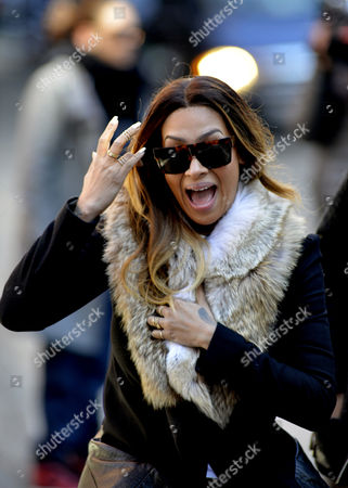 Editorial image of Lala Anthony out and about, New York, America - 24 Feb 2014