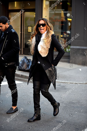 Editorial picture of Lala Anthony out and about, New York, America - 24 Feb 2014