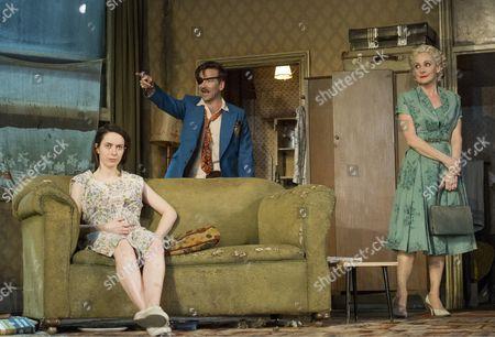 Kate O'Flynn as Josephine, Dean Lennox Kelly as Peter, Lesley Sharp as Helen,