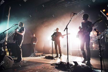 Editorial image of Midlake in concert, Wolverhampton, Wulfrun Hall, Britain - 21 Feb 2014