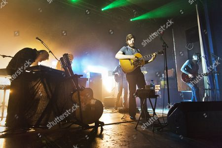 Editorial picture of Midlake in concert, Wolverhampton, Wulfrun Hall, Britain - 21 Feb 2014