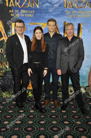 Stock Picture of Torsten Koch, Lena Meyer-Landrut, Alexander Fehling, Reinhard Klooss