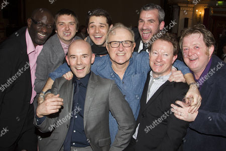 Sidney Cole, Craig Gazey, Daniel Evans, Kenny Doughty, Simon Rouse, Kieran O'Brien, Simon Beaufoy and Roger Morlidge