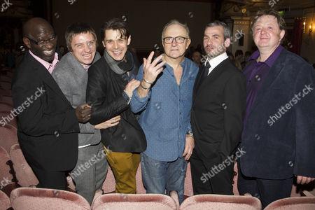 Stock Picture of Sidney Cole, Craig Gazey, Kenny Doughty, Simon Rouse, Kieran O'Brien and Roger Morlidge