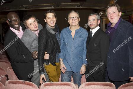 Stock Image of Sidney Cole, Craig Gazey, Kenny Doughty, Simon Rouse, Kieran O'Brien and Roger Morlidge