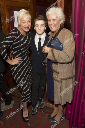 Denise Welch, Louis Healy (Nathan) and Lynda Bellingham