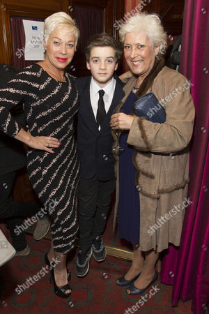 Denise Welch, Louis Healy and Lynda Bellingham