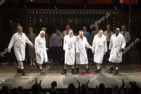 Editorial picture of 'The Full Monty' play press night, London, Britain - 25 Feb 2014