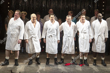 Editorial image of 'The Full Monty' play press night, London, Britain - 25 Feb 2014