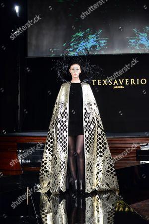 Editorial image of Tex Saverio show, Autumn Winter 2014, Paris Fashion Week, France - 25 Feb 2014