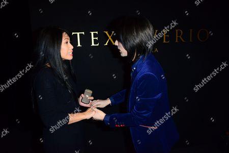 Anggun and Tex Saverio