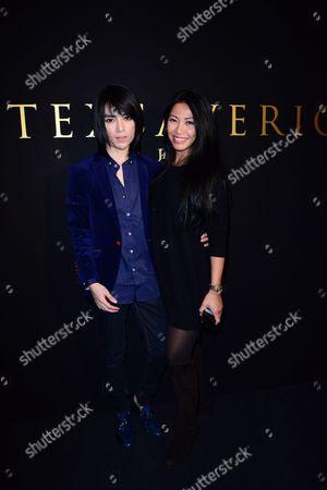 Tex Saverio and Anggun